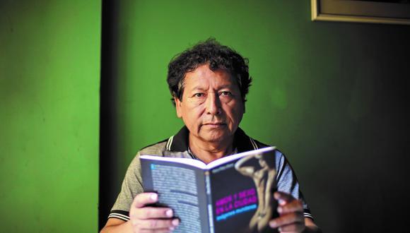"""Pedro Ccopa también escribió en el año 1999 el libro titulado """"Eros liberado"""". (Foto: GEC)"""