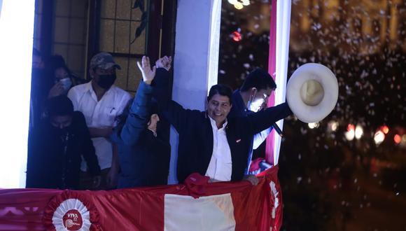 JNE proclamó a Pedro Castillo Terrones como presidente electo 2021-2026. (Foto: GEC)