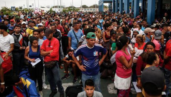 En 2018, miles de venezolanos ingresaron cada día en Perú. (Foto: Getty Images)
