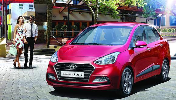 Modelos como el Grand i10 han tomado protagonismo en los últimos meses. (Foto: Hyundai)