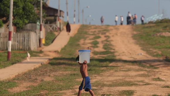 Las obras de agua y saneamiento para poblaciones vulnerables están incluidas en el presupuesto. (Foto: USI)