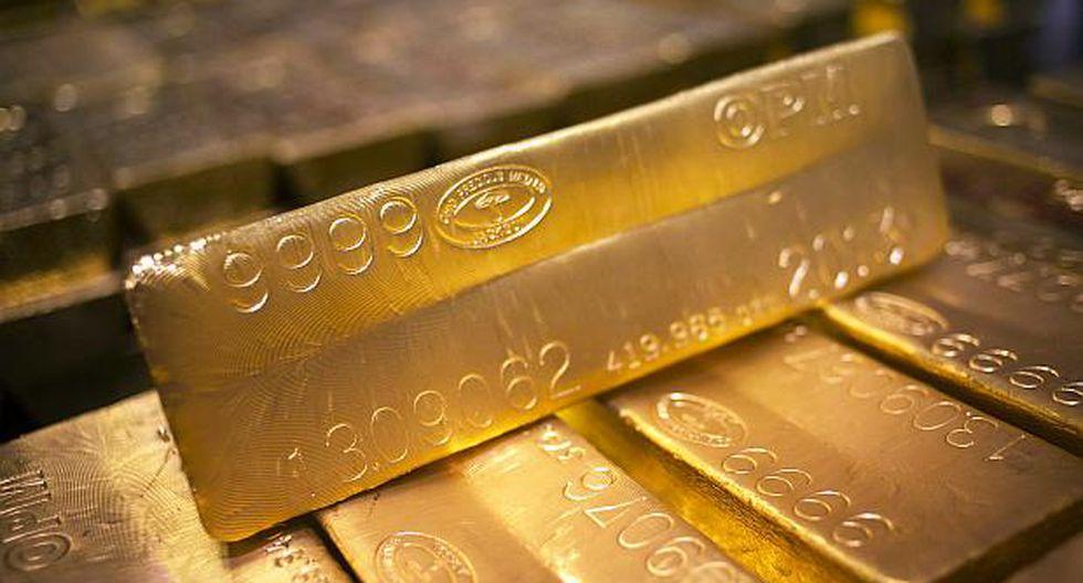 Los futuros del oro en EE.UU. sumaban un 0.3% a US$1,305.8 por onza.(Foto: Reuters)