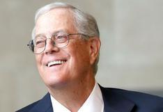 David Koch, donante multimillonario de causas republicanas, muere a los 79 años