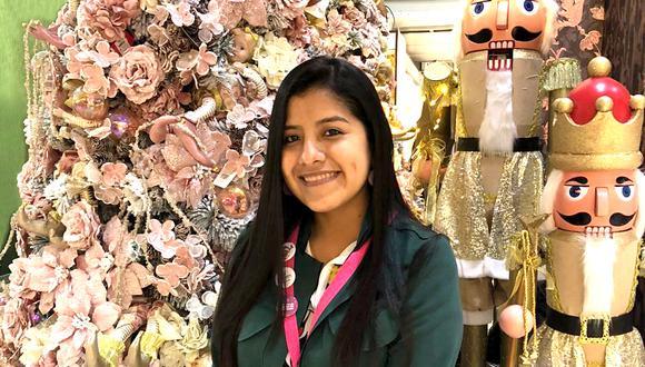 Se esperan vender más de 500 árboles navideños, dijo Nilda Arizmendi.