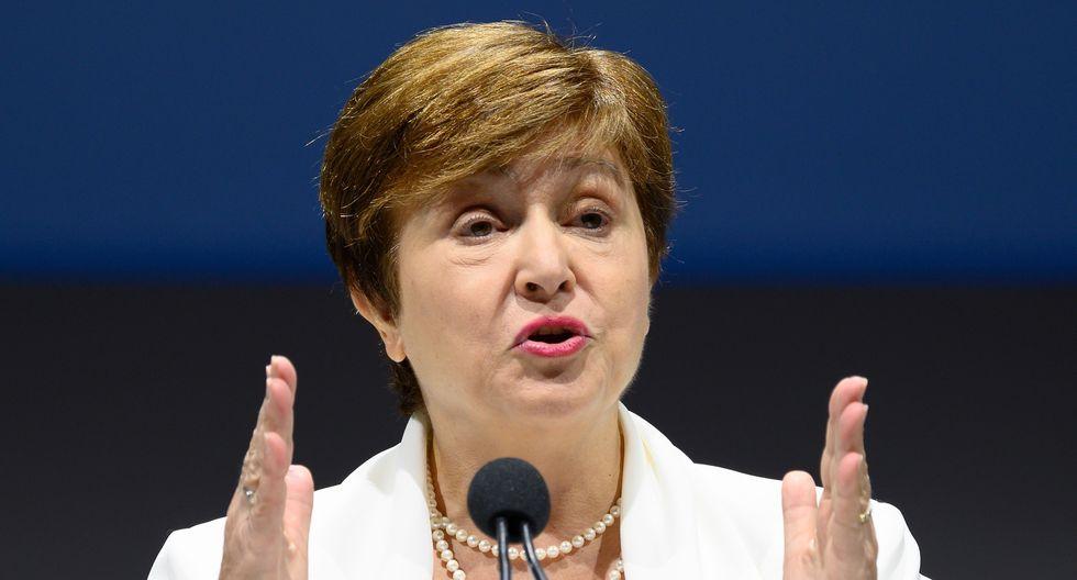 La jefa del FMI,Kristalina Georgieva, indicó que se espera que la crisis de salud afecte en mayor medida a los países más pobres. (Foto: AFP)