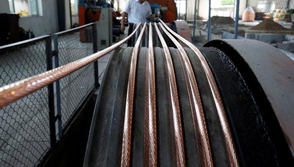 """""""Fundamentalmente, el panorama para el cobre es mucho mejor que el del año pasado"""", refiere un analista. (Foto: Reuters)"""