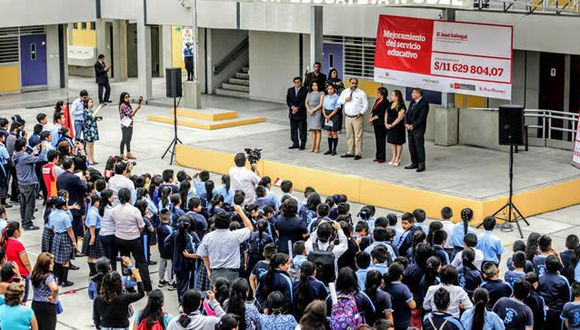 """Minedu dio a conocer la convocatoria para un concurso arquitectónico enfocado en el diseño de las """"Escuelas del Bicentenario"""". (Foto: Minedu)"""