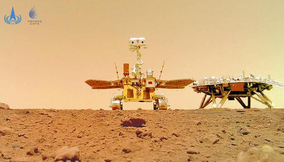 El explorador de seis ruedas recorrerá una zona conocida como Utopia Planitia, en busca sobre todo de rastros de agua o hielo que pudieran dar pistas sobre si alguna vez hubo vida en Marte. (Foto: AP)