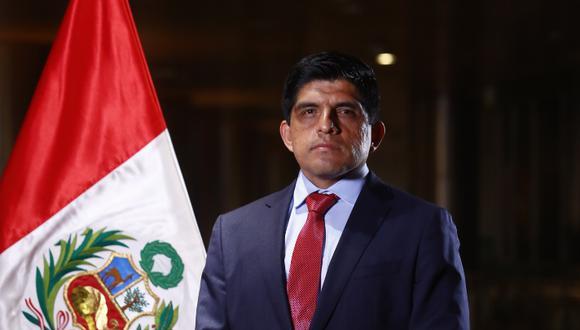 El nuevo ministro del Interior fue titular de la Fiscalía Especializada Contra el Crimen Organizado en Lambayeque. Foto: Presidencia