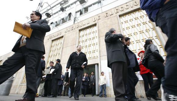 Los JEE están integrados por un juez superior, un fiscal superior y por  un ciudadano elegido por sorteo. (Foto: GEC)