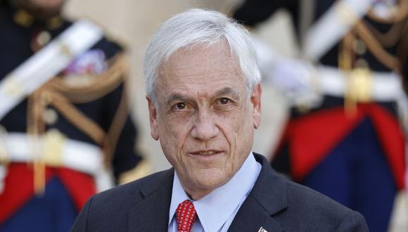 El mandatario chileno Sebastián Piñera aseguró que la venta de la minera Dominga fue legal y ya fue juzgada. (Foto: Ludovic MARIN / AFP)