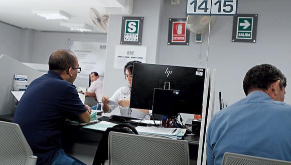 Reforma. Evitar competencia entre los sistemas de pensiones  público y privado debería ser una prioridad, según el  FMI. (Foto: César Campos / GEC)