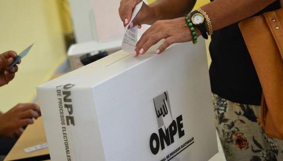 La ONPE recomienda la estrategia del voto escalonado, a fin de sufragar con mayor seguridad y minimizar riesgos de contagio por el COVID-19. (Foto: ONPE)