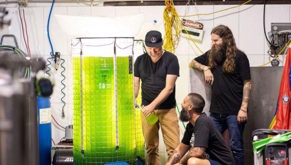 El proyecto Young Henrys está en sus primeras etapas, pero Oscar McMahon confía en que podría ampliarse para cervecerías más grandes. (Bloomberg)