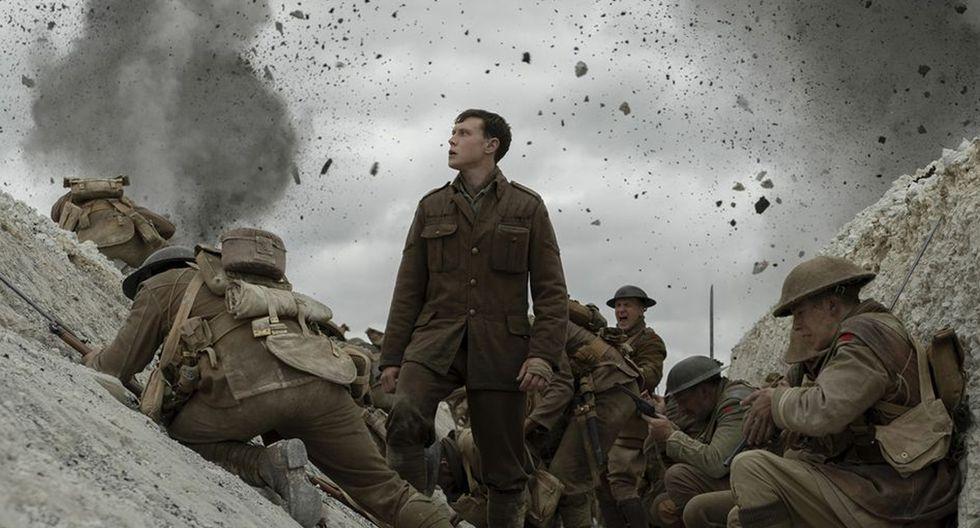 """Foto 6: """"1917"""", la desgarradora y técnicamente impresionante película de guerra del director Sam Mendes ganó US$ 8.1 millones en el fin de semana. (Foto: IMDB)"""