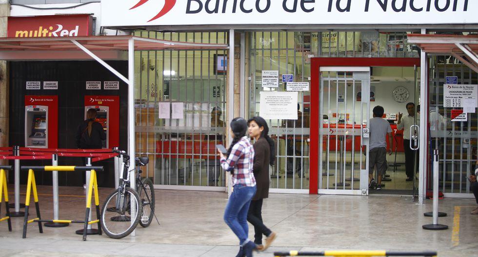 El Banco de la Nación señaló que la devolución por cobros indebidos será abonada a las cuentas de los ciudadanos, según cronograma que será publicado en diciembre. (Foto: GEC)