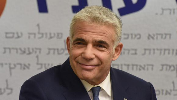 Yair Lapid. (Foto: AFP)
