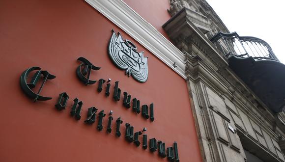 Se fijarán nuevos criterios para seleccionar a los magistrados del TC. (Foto: GEC)
