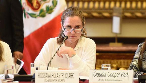 Claudia Cooper está a la cabeza del MEF. (Foto: MEF)