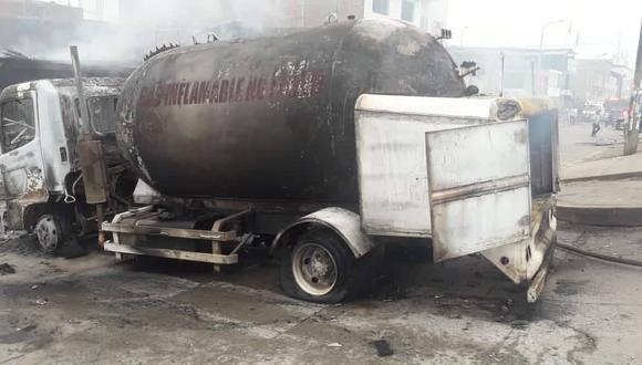 La explosión de un camión cisterna en enero de 2020 ocasionó más de 30 muertes. (Foto: Allen Quintana).