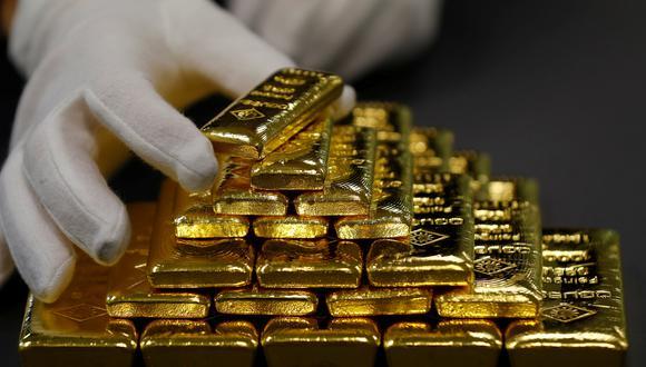 El oro abrió a la baja por la fortaleza del dólar. (Foto: Reuters)