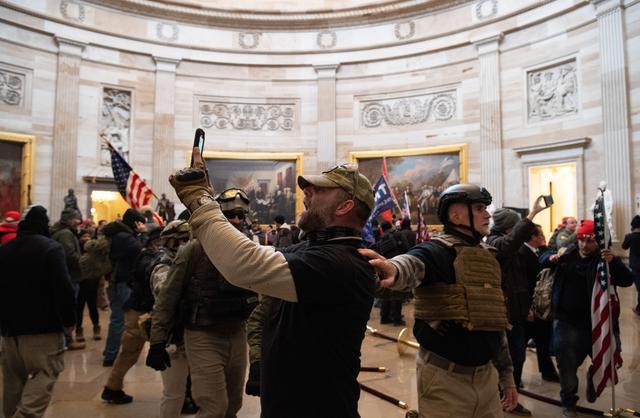 Caos en Washington por el asalto al Capitolio de miles de seguidores de Trump   MUNDO   GESTIÓN