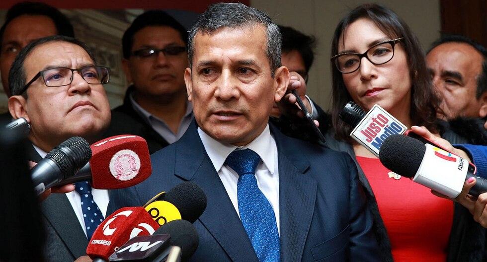 """Ollanta Humala resaltó que filtración de declaraciones es """"ilegal"""". (Foto: GEC)"""