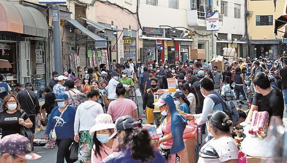 Emporios. De Lima centro y norte encabezan demanda de créditos. (Foto: GEC)
