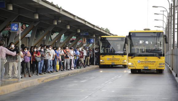 Las empresas concesionarias indicaron que este martes quedaría suspendido el servicio de Metropolitano. (Foto: GEC)