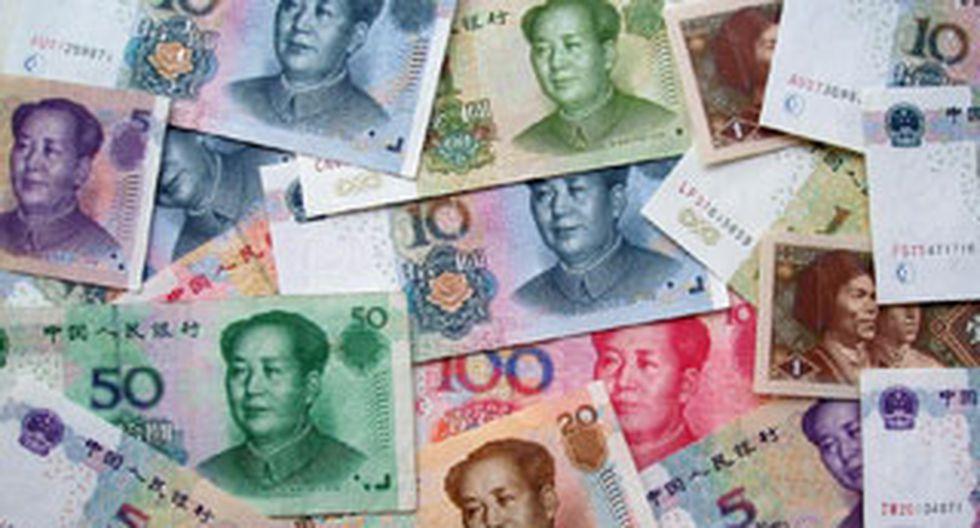 Uso del yuan aumentó un 50 % a nivel mundial