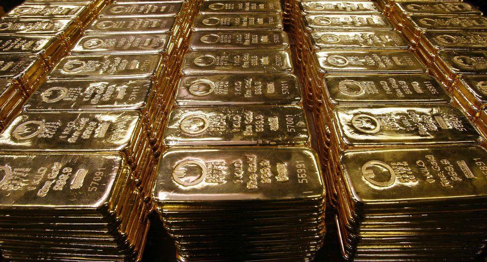 Los futuros del oro en Estados Unidos ascendían un 6.1%. (Foto: Reuters)