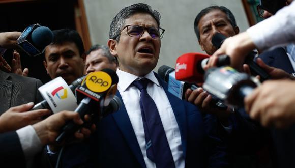 El fiscal José Domingo Pérez recordó que este martes 28 de enero se dará lectura a la decisión del juez sobre el pedido de prisión preventiva contra Keiko Fujimori. (Foto: GEC)