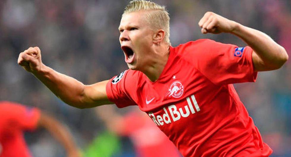 Erling Haland   Red Bull Salzburg   Valor: 12 millones de euros. (Getty Images)