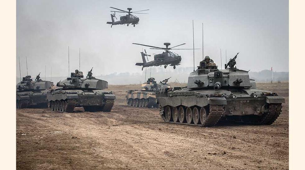 Se calcula que el gasto militar mundial en 2015 fue de US$ 1,676 billones, cifra que representa un 2.3% del PBI mundial o US$ 228 por persona. El gasto total fue un 1% superior en términos reales al de 2014. (Foto: Getty)