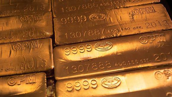 El oro se fortalece a la espera de una nueva alza de las tasas de interés de EE.UU. (Foto: Reuters)