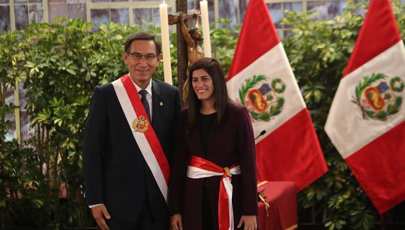 María Antonieta Alva fue oficializada hoy como ministra de Economía y Finanzas. (Foto: GEC)