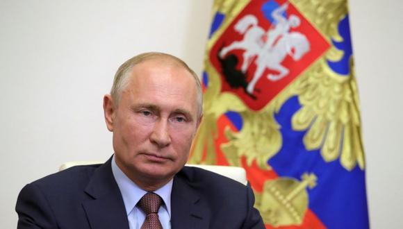 Siete días después de sus comentarios en la conferencia, Putin firmó un decreto en el que ordena al Gobierno trabajar para cumplir con el Acuerdo de París, pero sin cambiar el objetivo poco ambicioso de Rusia. (Foto: Mikhail KLIMENTYEV / SPUTNIK / AFP).