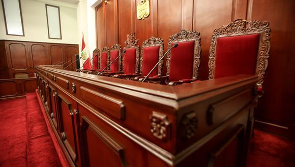 El Tribunal Constitucional esta integrado por siete miembros, seis de ellos ya cumplieron su mandato. (Foto: GEC)