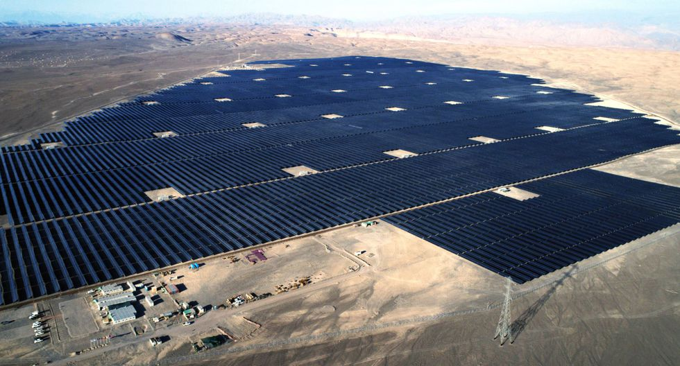 Generación solar en Moquegua. (Foto: Difusión)