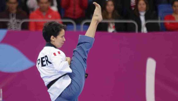 Marcela Castillo quedó cerca de ganar la medalla de oro en Poomsae. (Foto: Jesús Saucedo)