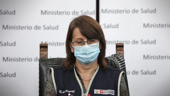 La extitular del Ministerio de Salud renunció al cargo la semana pasada. (Foto: PCM)