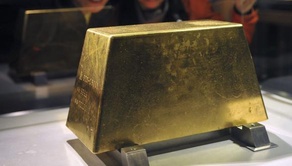 Los futuros del oro en Estados Unidos subían un 0.2%, a US$ 1,865.40 la onza. (Foto: AFP)