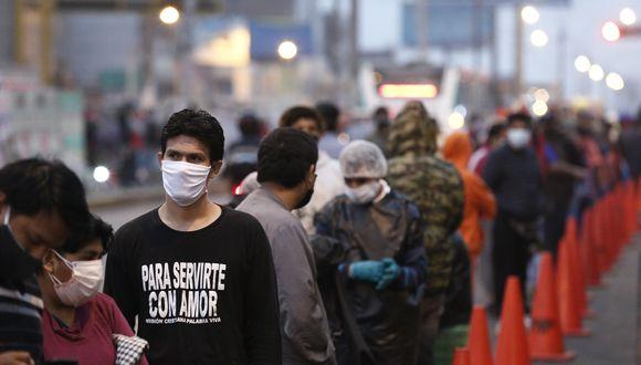 Los casos de coronavirus aumentan en el país. (Foto: GEC)