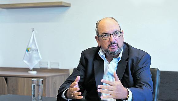 Planes. José Miguel Cayo indicó que en los últimos dos años la compañía ha reforzado el área comercial. (Foto: GEC)