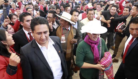 Se confirmó la alianza entre Vladimir Cerrón y Verónika Mendoza para las elecciones legislativas del 2020. (Foto: GEC)