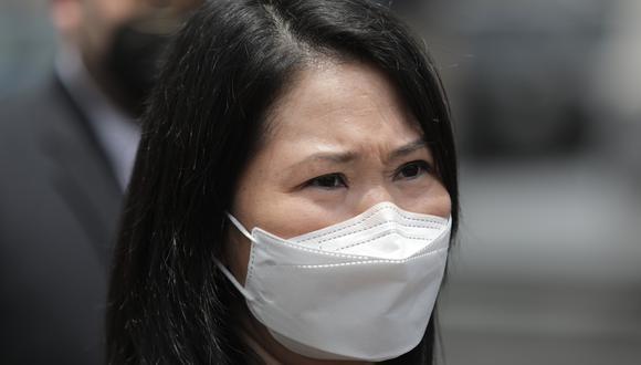 Keiko Fujimori, quien es investigada por el caso Odebrecht, postula por tercera vez a la Presidencia de la República. (Foto: Archivo GEC)