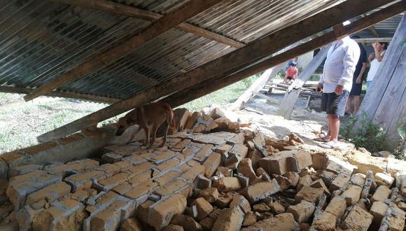 Este domingo se produjo un fuerte sismo en Loreto. Dejó una persona fallecida. (Foto: Rolly Reyna)