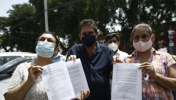 Juan Carlos Zurek encabeza un sector de Somos Perú que pide la renuncia de Martín Vizcarra y Daniel Salaverry. (Foto: Francisco Neyra/ @photo.gec)