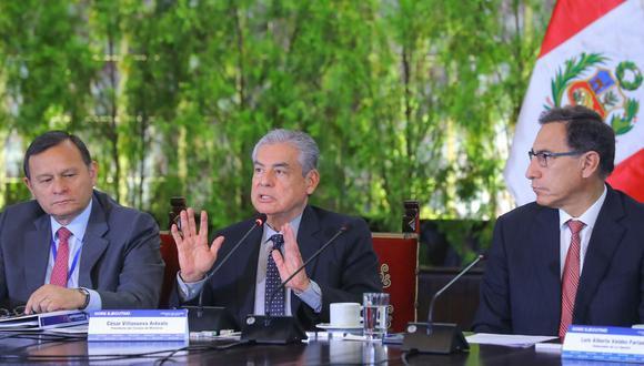 César Villanueva, primer ministro. (Foto: Presidencia / Difusión)