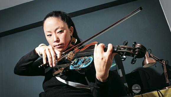 """Producción. Pauchi Sasaki hizo dos discos: """"YUYU""""( 2007 ) y """"koPpu"""" ( 2011 ). (Foto: Diana Chávez)"""
